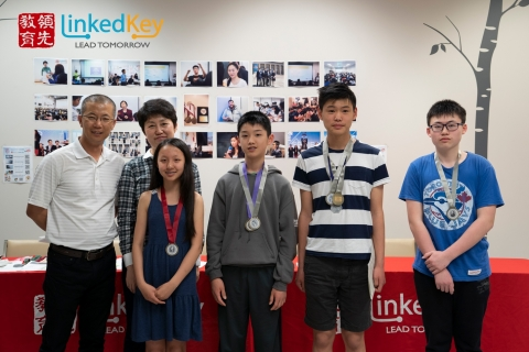 The Champion of LinkedKey for Mathematica Math Contest